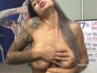 'live Webcam Soiled Deepthroat Blowjob Together With Dear One Gadget - Alexis Zara'